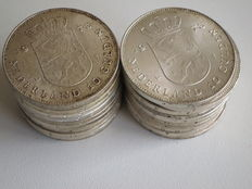 The Netherlands – 10 guilder coin 1973 (20 coins), Juliana – silver.