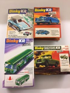 Dinky Toys Kit - Schaal 1/43-1/66 - Kavel met Beach Buggy No. 1014, Rolls  Royce Phantom V No.1001, Single Decker Bus  No.1023 en Army Land rover No.1032