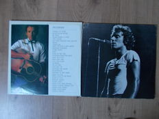 Bruce Springsteen 4 Lp Live In Turin , 11/06/1988 and double lp live at the roxy theater 1978