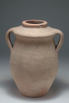 Beautiful terracotta vase from the Gallo-Roman period 213/165mm