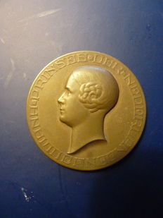 "The Netherlands - Medals ""Princess Juliana adult 1927"" and ""The fulfillment 1906"""
