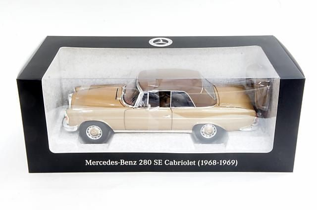 Norev scale 1 18 mercedes benz 280 se convertible w111 for 1968 mercedes benz 280 se convertible