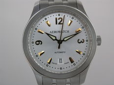 Aerowatch mechanical visible case back 60906AA02M