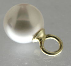 14 kt Gold Pendant with Pearl 14 mm