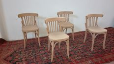 Four Austrian chairs early 1900s