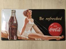 Coca Cola billboard - 1997 - Be refreshed