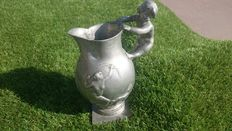 Leo Laporte-Blairsy (1865-1923) - Cupid - pewter pitcher