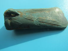 Bronze age bronze socketed axehead - 75 mm