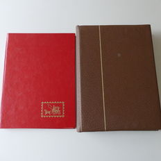 Bavaria and German Empire - collection in two storage books