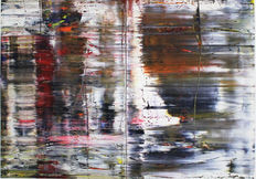 Gerhard Richter (after) - Abstract painting 726