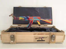 Ray Coster - Art against war / AK 47 Peace edition color