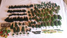 Scenery H0 – Batch of 150 different trees