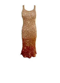 Dolce & Gabbana – Silk tube dress with sequins