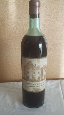 1940 Chateau Haut Brion, Pessac Leognan, Bordeaux, France, 1 bottle, 750 ml.