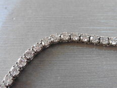18k Gold Diamond Tennis Bracelet – 8.00ct  I, SI1-2