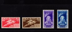 Italy, Kingdom, 1935 – 1st International Air Show – complete series
