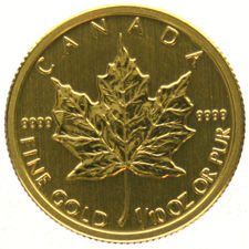 Canada – 1/10 Maple Leaf  2010 – gold