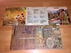 """Lot - Woodstock One + Woodstock Two """"Three Days of Peace and Music"""" in 5 live albums"""