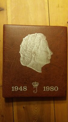 The Netherlands – Collection Juliana, complete incl. silver, in album