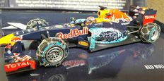 Minichamps - Schaal 1/43 - Red Bull TAG RB7 Max Verstappen - Sneeuw demonstratie run 2016
