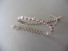 3.50ct Diamond Tennis Bracelet - I, Si1