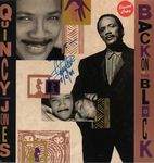 "Check out our Quincy Jones: ""Back on The Block"" Hand Signed on Front  Album Cover of This Hip Hop, Jazz, Funk / Soul Style: RnB/Swing, House Album with COA"
