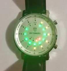 DETOMASO Spacy Timeline 2- men's wristwatch
