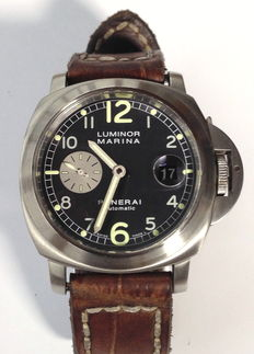 "Officine Panerai Luminor Marina (PAM 086 ""Bill Clinton""). Serie limitada D-Seris del año 2002."