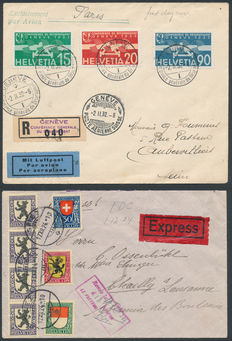 Zwitserland  - 1924/1932 - FDC's