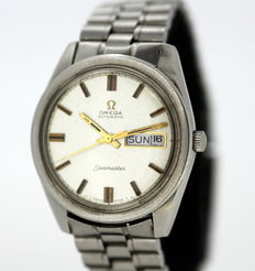 Omega Seamaster - Automatic Vintage Stainless Steel Wristwatch, 1970's