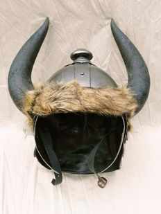 Helmet with horns