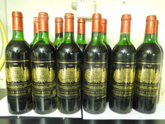 1982 Chateau Palmer, Margaux Grand Cru Classé - 12 flessen 75cl in originele houten kist