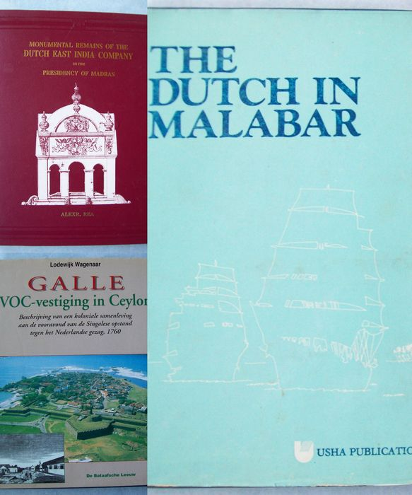 Lot with 3 books about the VOC in South Asia - 1984 / 1998