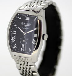 Longines Evidenza - All Stainless Steel Swiss Made Automatic Men's Wristwatch