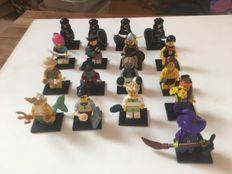 Collectible Minifigures - Minifigures Series - Verzameling van 17 figuren