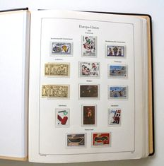 Europa Stamps 1989/1991 - collection in KABE album