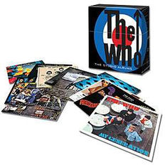 The Who Studio Albums Collection Limited Edition Vinyl Box Set