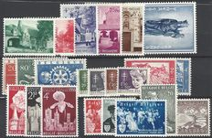 Belgium – OBP no. 946 to 1004, complete series