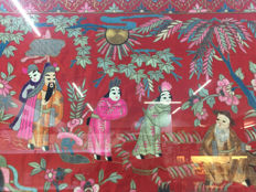 Handmade silk embroidery - China - Second half of the 20th century