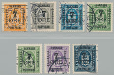 Denmark – Selection between Facit 63 and 176