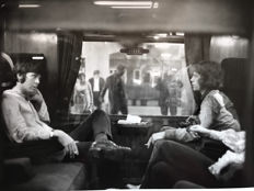 Victor Blackman - Getty Archive - Paul McCartney & Mick Jagger - 'First Class Travel' - 1967