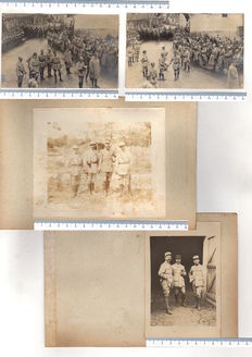 Lot consisting of 78 photographs - World War I - FRENCH ARMY