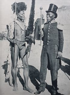 South African Photo Publishing Company (19th century) - South Africa, Zululand and Basutoland