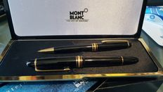 Pair of Mont Blanc pens (fountain pen and pencil)