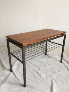 Designer unknown - modernistic styled reading/side table