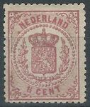 Check out our The Netherlands 1875 - Coat of Arms - NVPH 16D, with inspection befund