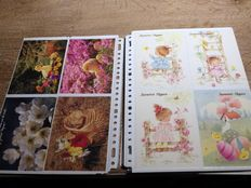 Lot of 282 x novelty Easter - 190 x in French + 92 x in Flemish