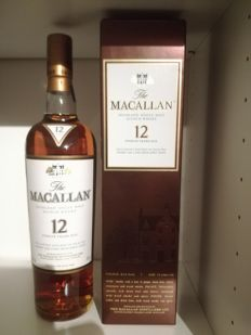 The Macallan 12 years old Sherry Oak incl sample
