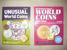 """Krause 2 Catalogs """" Unusual World Coins """" and """" Standard Catalog of World Coins 2001-Date"""""""