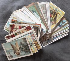 Lot of 100 pieces Antique Liebig cards since 1888